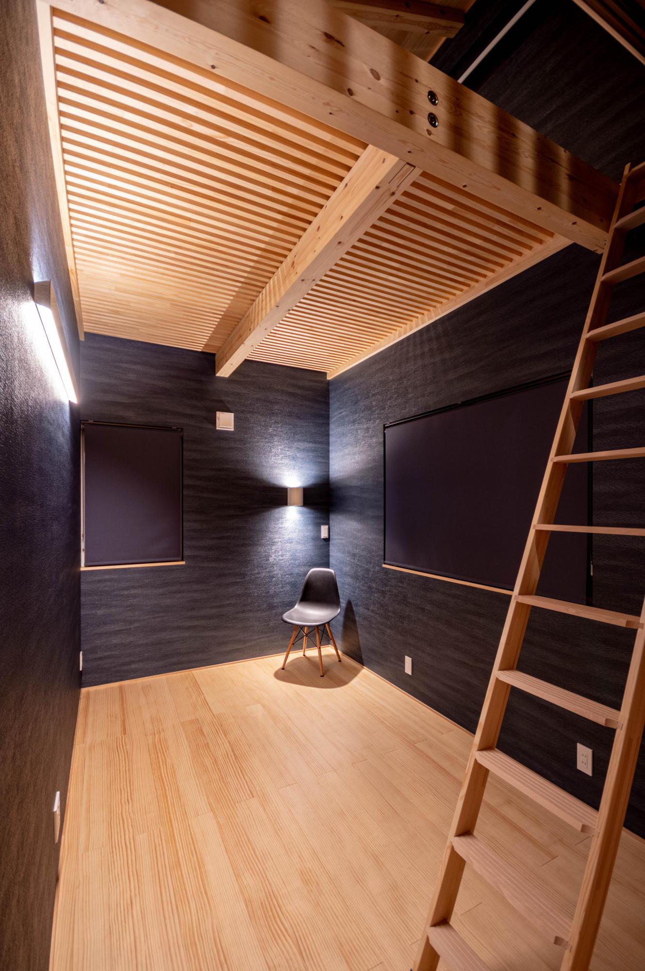 HN邸完成写真 寝室1