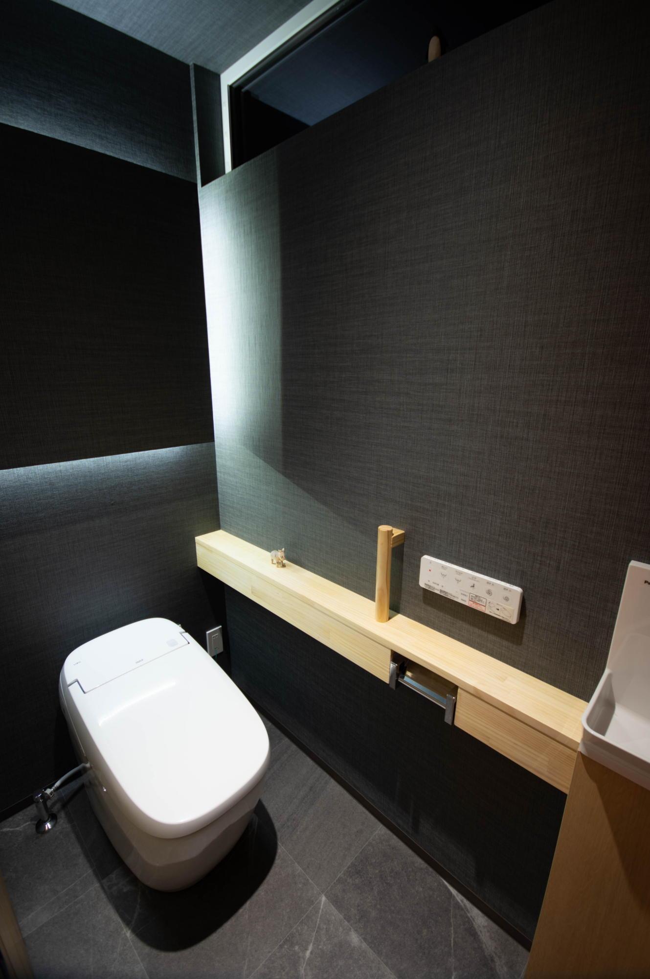 ライフ・コアデザインオフィス完成写真 トイレ